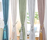China Textile City: year-end curtain fabric creative fabrics still sell well